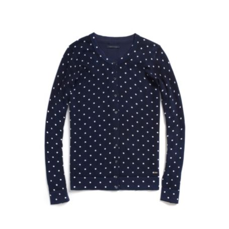 Image for DOT CARDIGAN from Tommy Hilfiger USA