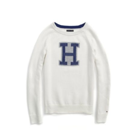 Image for H LOGO SWEATER from Tommy Hilfiger USA