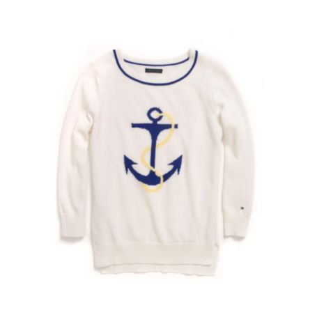 Image for ANCHOR LOGO SWEATER from Tommy Hilfiger USA