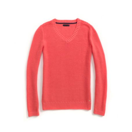 Image for TEXTURED HORIZONTAL KNIT SWEATER from Tommy Hilfiger USA