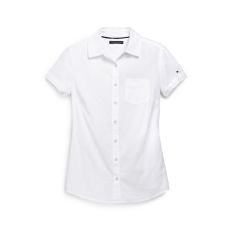 Image for SHORT SLEEVE DOBBY SHIRT from Tommy Hilfiger USA
