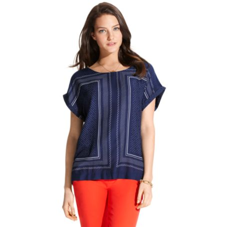 Image for DOT PRINT TOP from Tommy Hilfiger USA