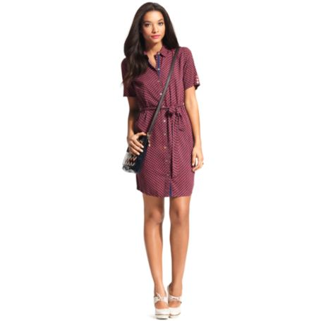 Image for CHAIN PRINT DRESS from Tommy Hilfiger USA