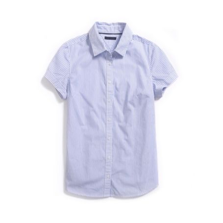 Image for SHORT SLEEVE ITHACA STRIPE SHIRT from Tommy Hilfiger USA