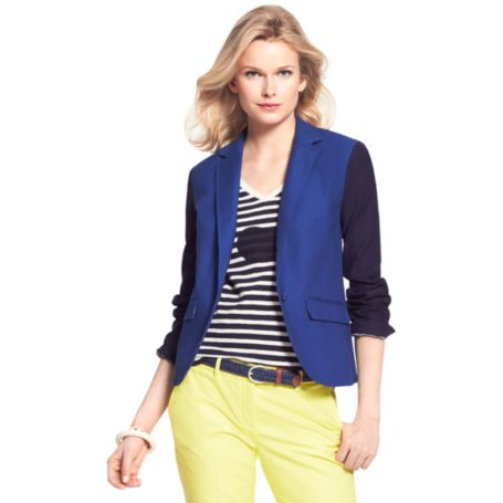 Image for TWO TONE BLAZER from Tommy Hilfiger USA