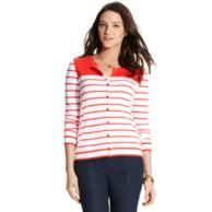 STRIPE CARDIGAN $74.00