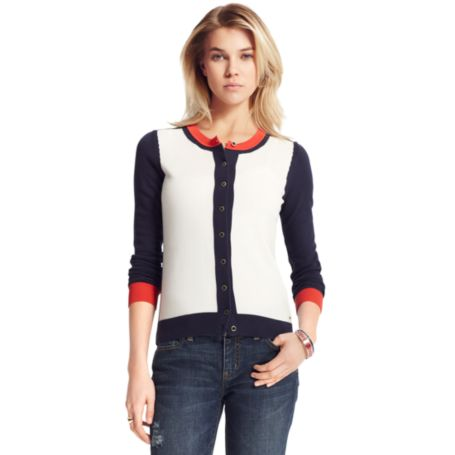Image for COLORBLOCK CARDIGAN from Tommy Hilfiger USA
