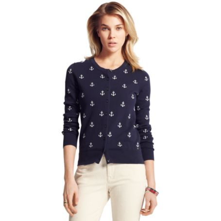 Image for ANCHOR CRITTER CARDIGAN from Tommy Hilfiger USA
