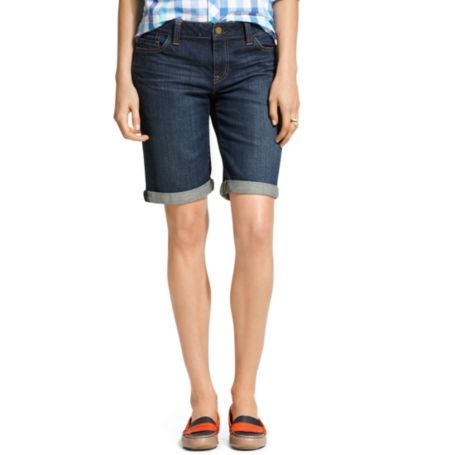 Image for KNEE LENGTH DENIM SHORT from Tommy Hilfiger USA