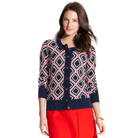 Image for PRINT CARDIGAN from Tommy Hilfiger USA