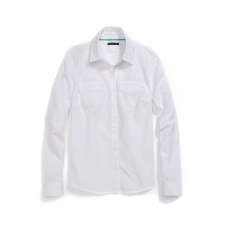 Image for ROLL-SLEEVE LINEN SHIRT from Tommy Hilfiger USA