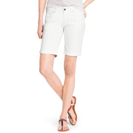 Image for WHITE BERMUDA SHORT from Tommy Hilfiger USA