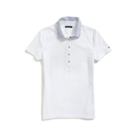 Image for ITHACA STRIPE COLLAR POLO from Tommy Hilfiger USA