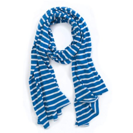 Image for YARN DYE JERSEY SCARF from Tommy Hilfiger USA