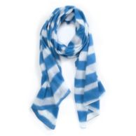 WATERCOLOR STRIPE SCARF $49.00