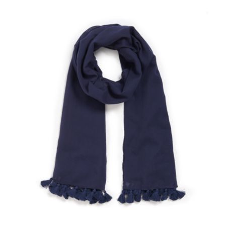 Image for SOLID POM-POM SCARF from Tommy Hilfiger USA