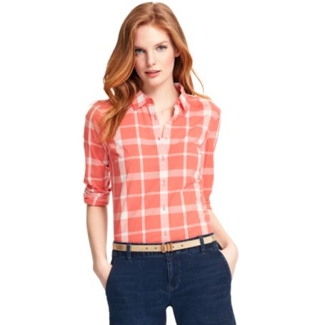 Image for TWO TONE PLAID SHIRT from Tommy Hilfiger USA