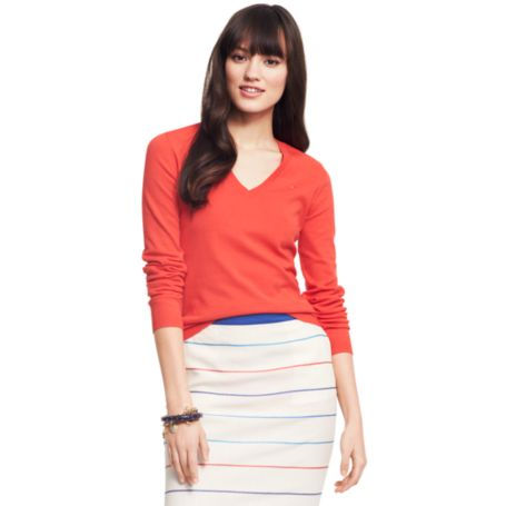 Image for V-NECK SWEATER from Tommy Hilfiger USA