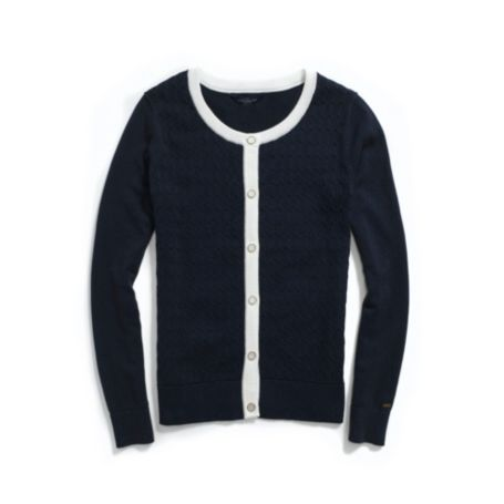 Image for CABLE CARDI from Tommy Hilfiger USA