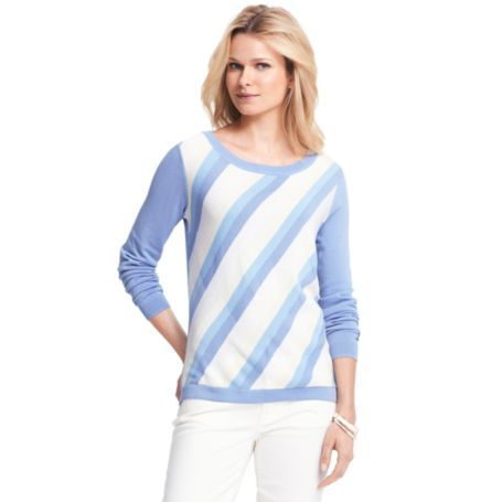 Image for SUMMER WEIGHT STRIPE SWEATER from Tommy Hilfiger USA