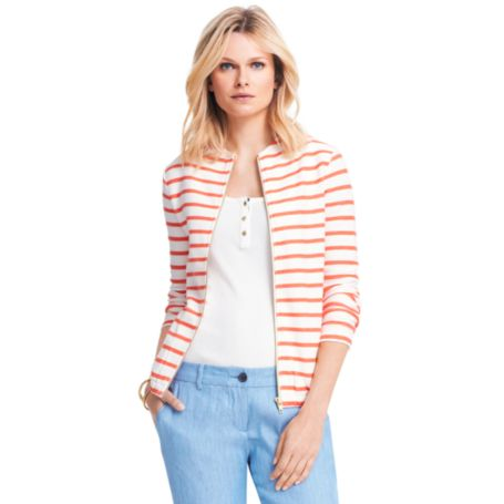 Image for PARISIAN STRIPE JACKET from Tommy Hilfiger USA