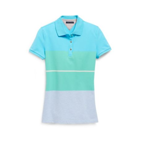 Image for COLORBLOCKED PASTEL POLO from Tommy Hilfiger USA