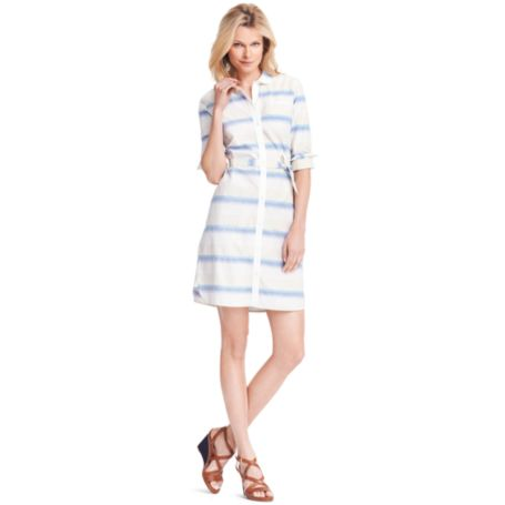 Image for SUNDOWN STRIPE DRESS from Tommy Hilfiger USA