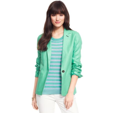 Image for RIO LINEN BLAZER from Tommy Hilfiger USA