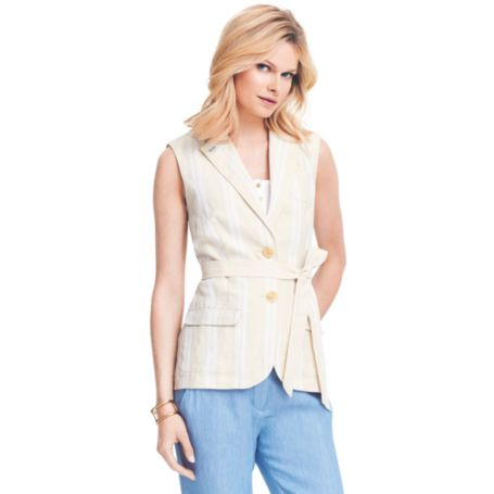 Image for SLEEVLESS SUMMER TRENCH from Tommy Hilfiger USA