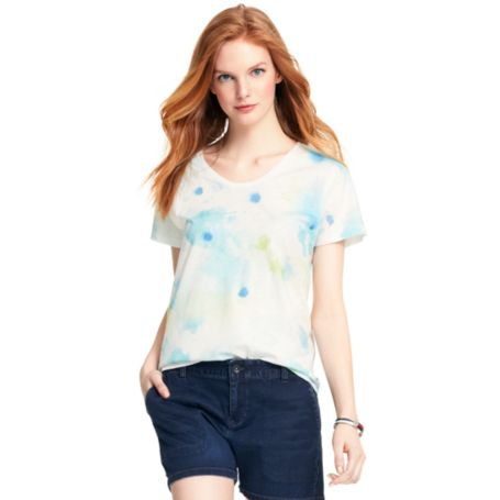 Image for WATERCOLOR TEE from Tommy Hilfiger USA
