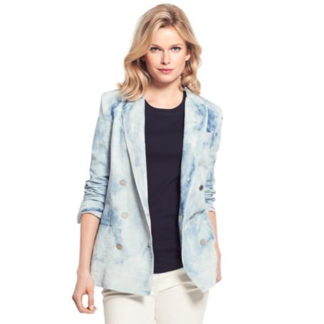 Image for CLOUD PATTERN BLAZER from Tommy Hilfiger USA