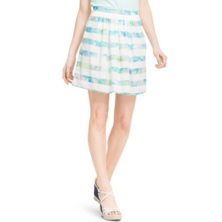 Image for BOTANICA STRIPE SKIRT from Tommy Hilfiger USA