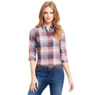 SLIM FIT AUTUMN CHECK SHIRT $69.00