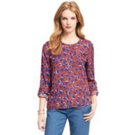 PAINTED PETAL BLOUSE $99.00