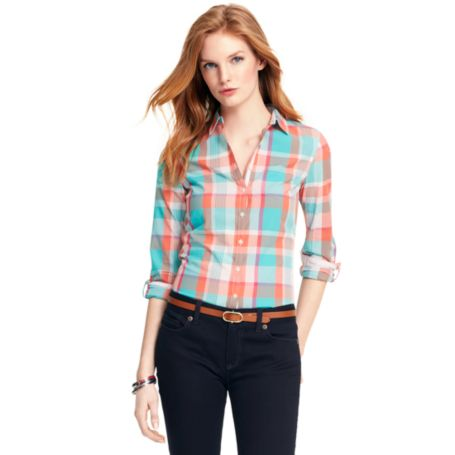 Image for SUMMER PLAID SHIRT from Tommy Hilfiger USA