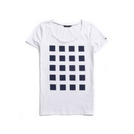 Image for PRINTED SQUARE TEE from Tommy Hilfiger USA