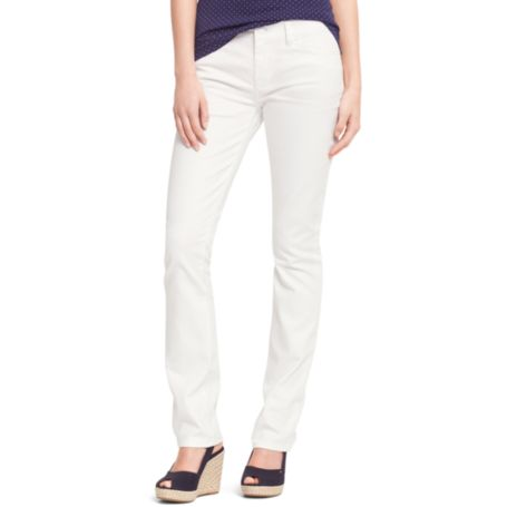 Image for WHITE STRAIGHT LEG JEAN from Tommy Hilfiger USA