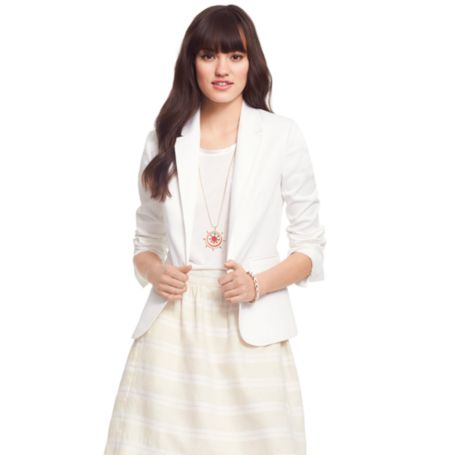 Image for SUMMER WHITE BLAZER from Tommy Hilfiger USA