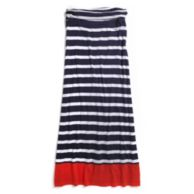 KNIT STRIPE MAXI SKIRT $79.50