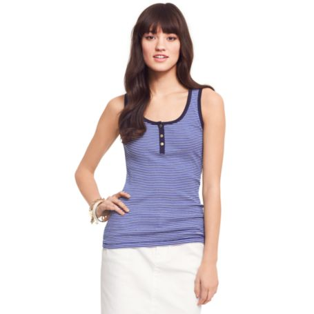 Image for SLIM STRIPE TANK from Tommy Hilfiger USA