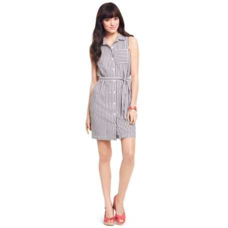 Image for STRIPE SHIRTDRESS from Tommy Hilfiger USA