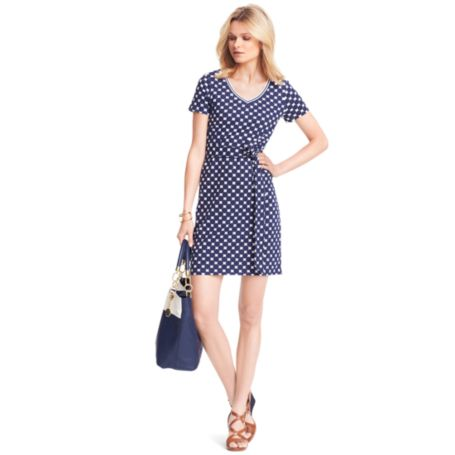 Image for DOT T-SHIRT DRESS from Tommy Hilfiger USA