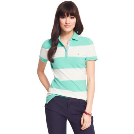 Image for HERITAGE RUGBY STRIPE POLO from Tommy Hilfiger USA
