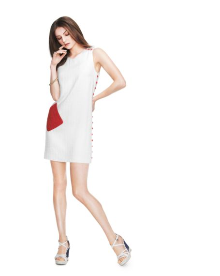 Image for RED POCKET DRESS from Tommy Hilfiger USA