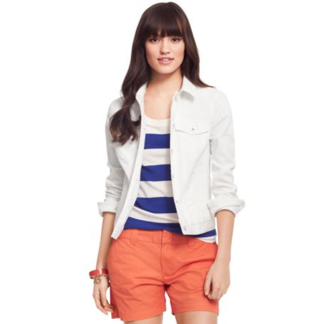 Image for WHITE DENIM JACKET from Tommy Hilfiger USA
