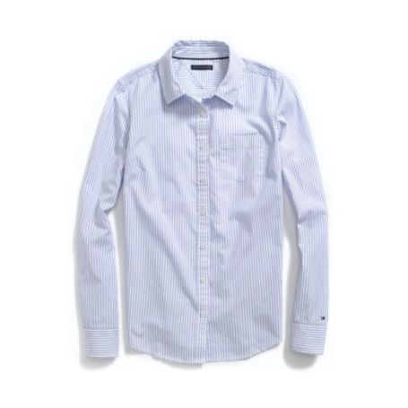 Image for PINSTRIPE FAVORITE OXFORD from Tommy Hilfiger USA