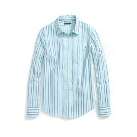 Image for STRIPED FAVORITE OXFORD from Tommy Hilfiger USA