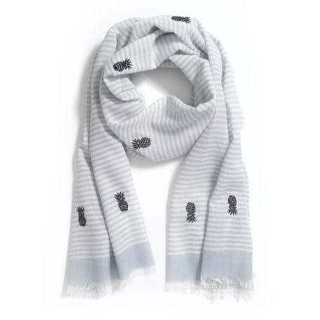 Image for PINEAPPLE STRIPE SCARF from Tommy Hilfiger USA
