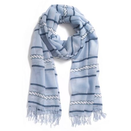 Image for ROPE STRIPE SCARF from Tommy Hilfiger USA