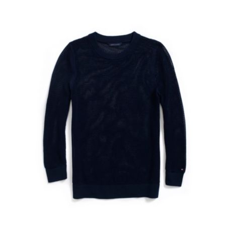 Image for SUMMER WEIGHT CREWNECK SWEATER from Tommy Hilfiger USA